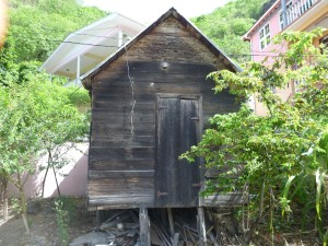 Example of a slave hut